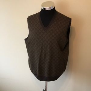 Brooks Brothers men's lambswool vest EUC